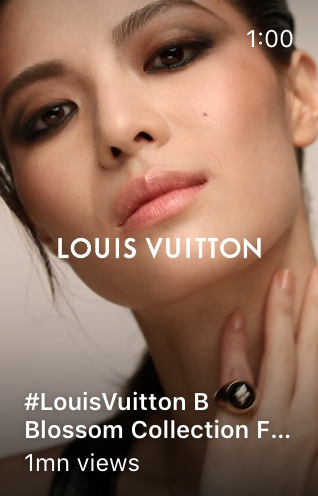 IGTV product collection video by @louisvuitton