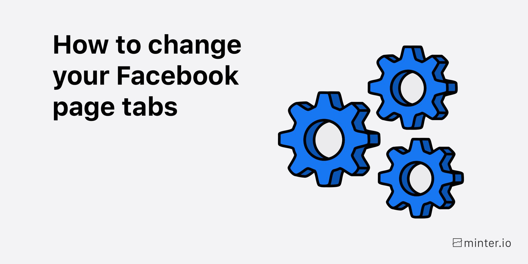 How to change your Facebook page tabs