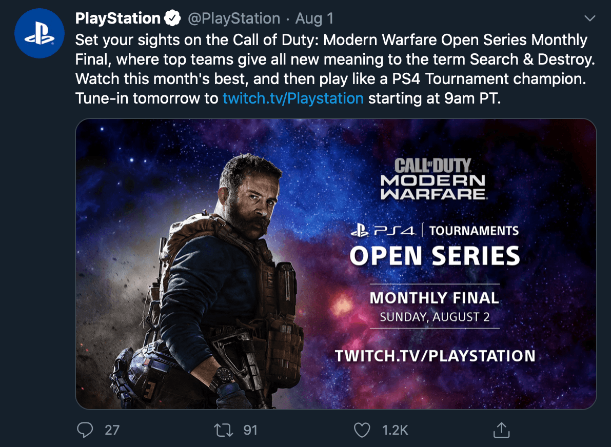 Media in tweet by @PlayStation