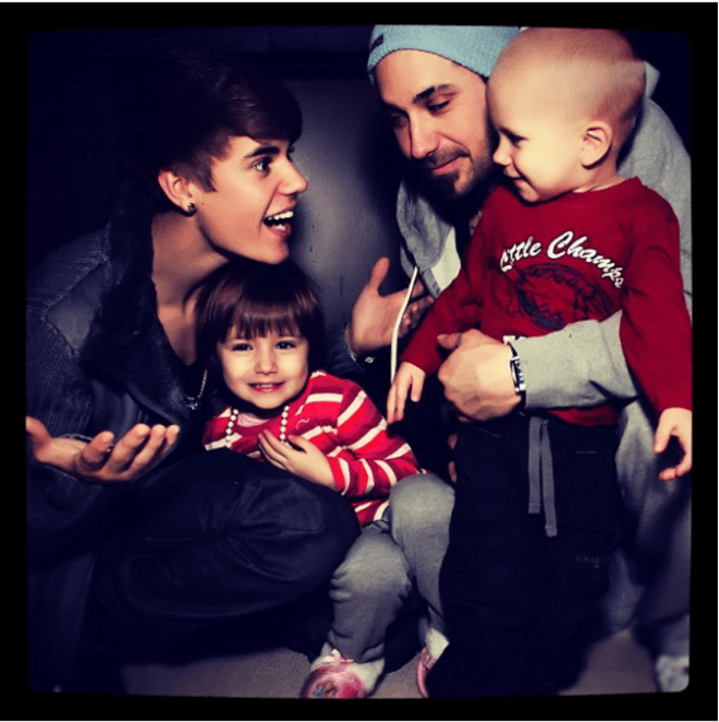 The most liked Instagram post of 2011 by @justinbieber