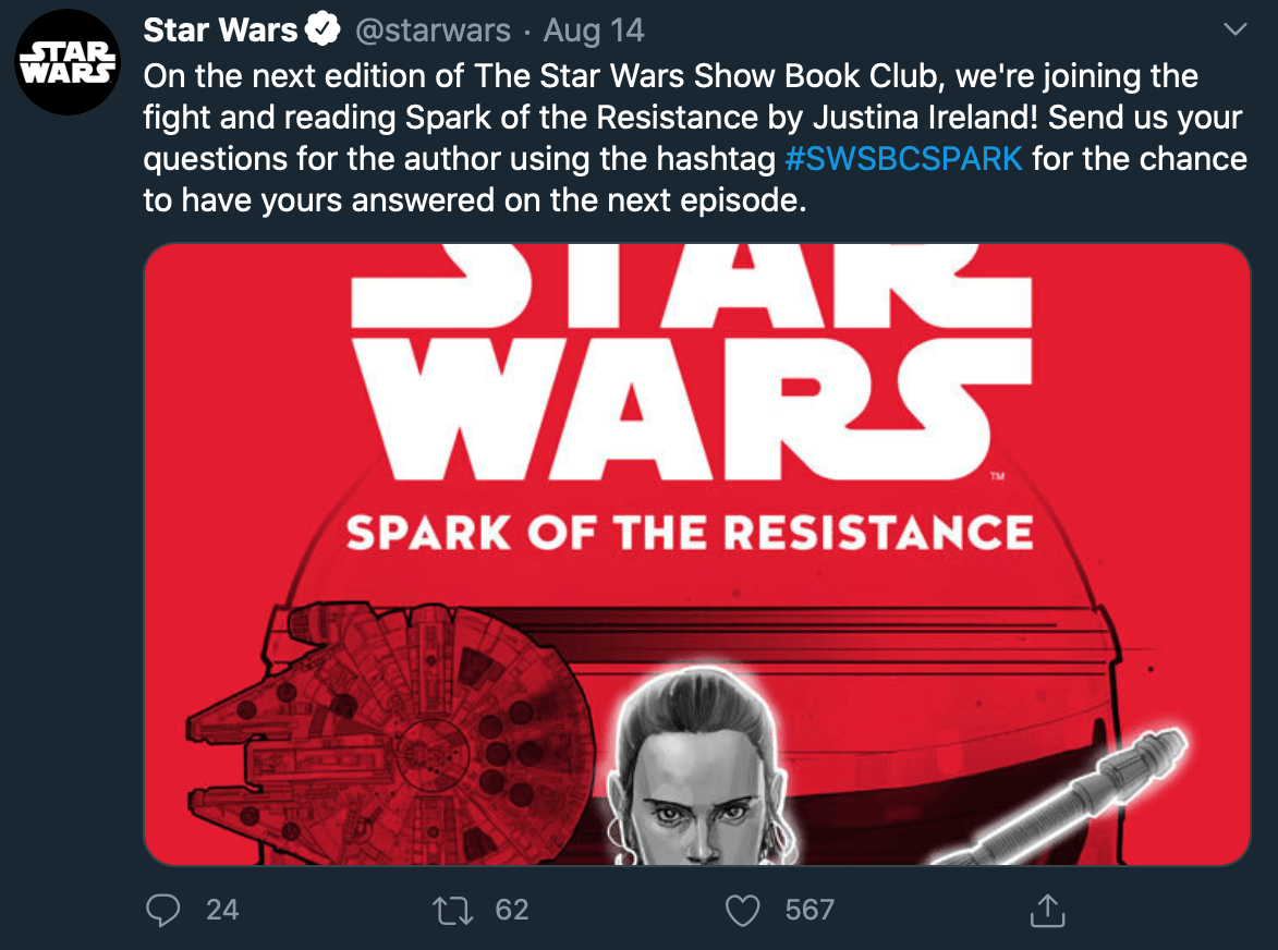 Media posted by @starwars on Twitter