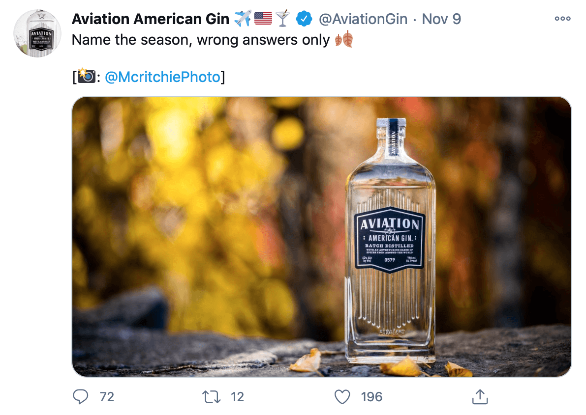 Tweet by @AviationGin based on a Twitter trend
