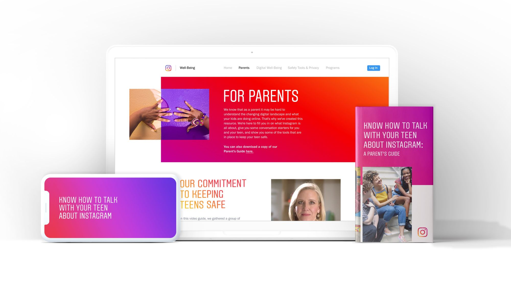 Resources for parents of teens on Instagram