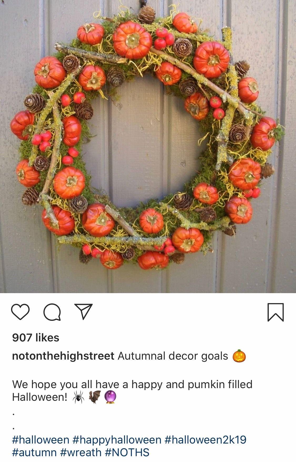 @notonthehighstreet media and description on an Instagram post