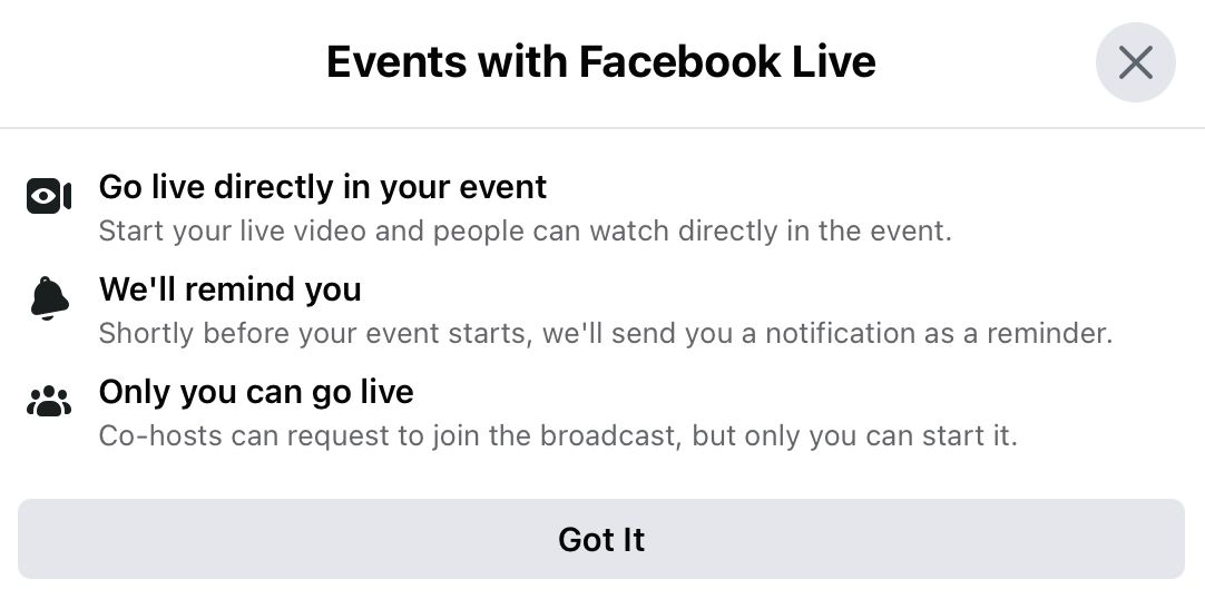 Decide how people can join the event and which application or website you will use for the Facebook event