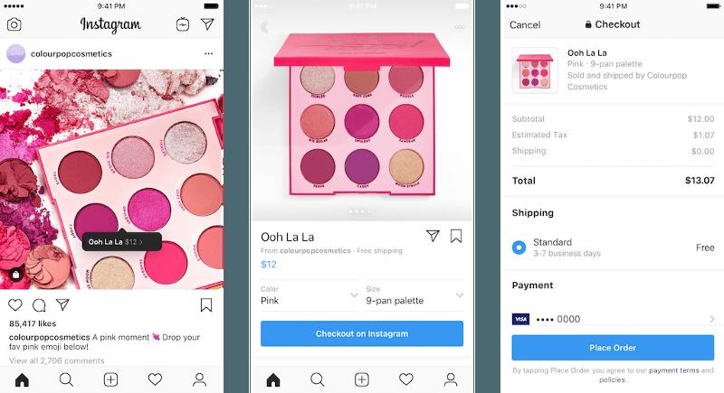 Shop on Instagram - Photo from instagram-press.com